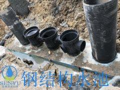 中山雨水收集系统-碳钢水池-钢结构水池